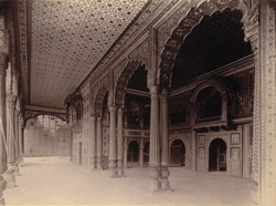 Interior of the Darya Daulat, Seringapatam.